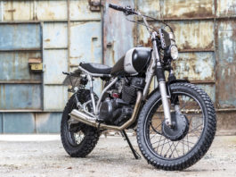 Yamaha SR250 custom by Corb Motorcycles